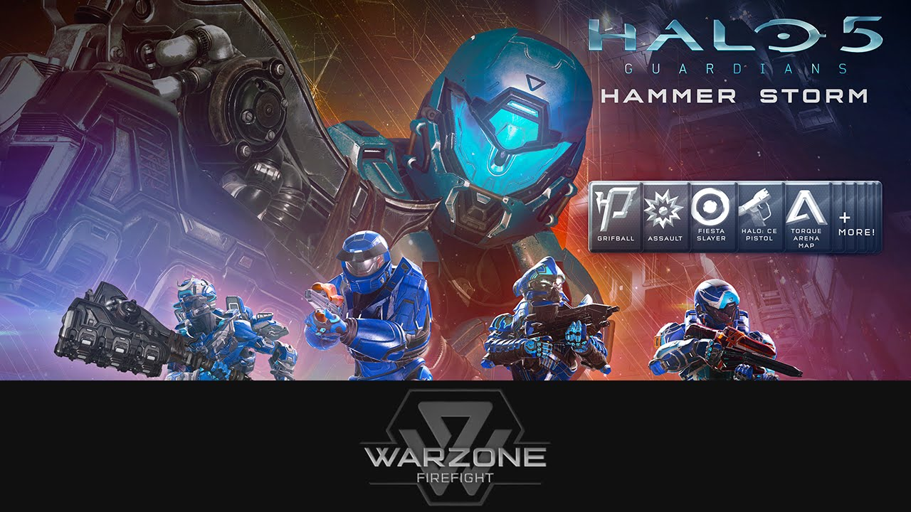 Halo Hammer Storm launches today!
