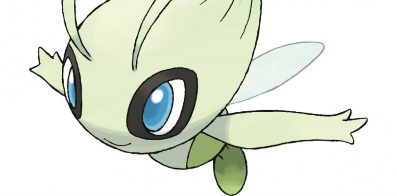 Celebi is available as a mystery gift from March 1st to the 24th