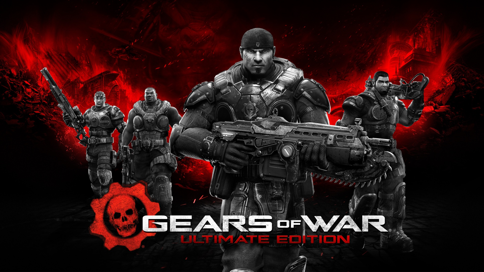 Surprise! Gears of War Ultimate Edition is now Available on PC!